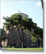 Church Of Hagia Eirene I - First Courtyard Topkapi Palace Metal Print