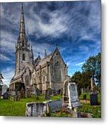 Church Of Marble Metal Print