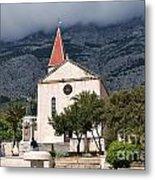 Church Of St.mark Makarska Metal Print