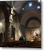 Church Of The Assumption Of Mary In Bossost Metal Print