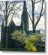 Church Of The Blessed Mary Metal Print