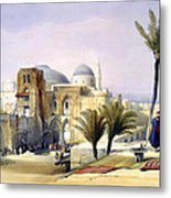 Church Of The Holy Sepulchre In Jerusalem Metal Print