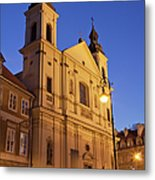Church Of The Holy Spirit In Warsaw Metal Print
