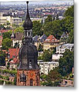 Church Of The Holy Spirit Steeple Metal Print
