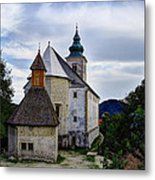Church Of The Mother Of God Metal Print