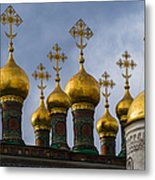Church Of The Nativity Of Moscow Kremlin Metal Print