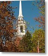 Church Of The Redeemer  From The Lexington Battlefield Metal Print