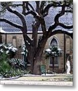 Church On Rosedale With A Dusting Of Snow Metal Print