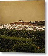 Church On The Hill - Andalusia Metal Print