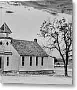 Church On The Plains Metal Print