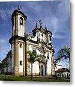 Church Ouro Preto Brazil 5 Metal Print