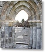 Church Portal Metal Print
