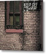 Church Property Metal Print