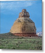 Church Rock On The Road To Moab Metal Print