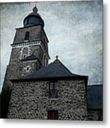 Church Saint Malo Metal Print