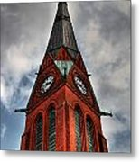 Church Spire Hdr Metal Print