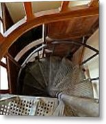 Church Stairs Metal Print