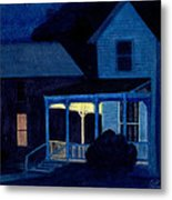 Church Street Metal Print