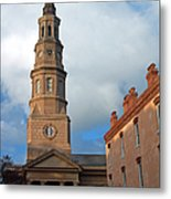 Church Street In Charleston Sc Metal Print