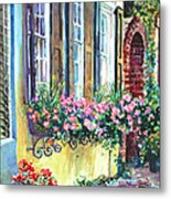 Church Street Textures Metal Print by Alice Grimsley