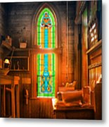 Church Vestibule Metal Print
