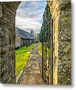 Church Way Metal Print