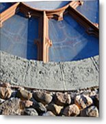 Church Window Detail Metal Print