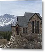 Church With A View Metal Print