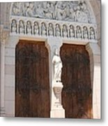 Churchdoor - Saint Peter - Macon Metal Print