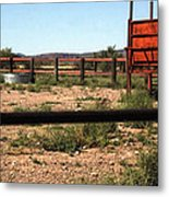 Chute And Butte 14979 Metal Print