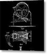 Cider Mill Patent Metal Print