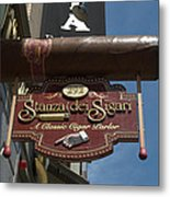 Cigar Parlor Boston Metal Print