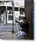 Cigar Shop On Bourbon Street New Orleans Metal Print