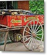 Cigar Wagon Metal Print