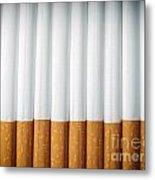 Cigarettes Metal Print