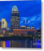 Cincinnati At Sunset Metal Print