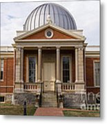 Cincinnati Observatory In Cincinnati Ohio Metal Print by Paul Velgos