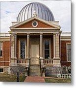 Cincinnati Observatory In Cincinnati Ohio Metal Print