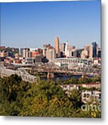 Cincinnati, Ohio Metal Print