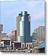 Cincinnati Panoramic Skyline Metal Print