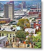 Cincinnati Rooftop 9965 Metal Print