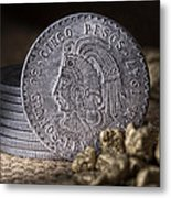 Cinco Pesos Still Life Metal Print