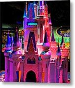 Cinderellas Castle Number One Metal Print