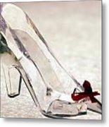Cinderella's Slipper Metal Print