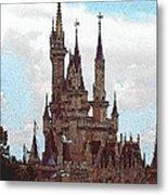Cindies Castle Metal Print