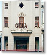 Cinema Cuba Metal Print