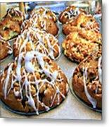 Cinnamon Muffins Metal Print