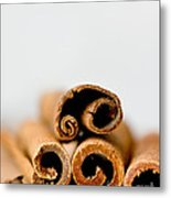 Cinnamons And Clove Metal Print
