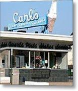 Circa 1940s Carls Ice Cream Metal Print