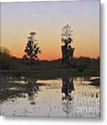 Circle B Sunset Metal Print